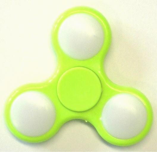 Spinner LED - LED Finger Spinner - Anti-Stress-Kreisel in 3 Farben