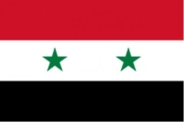 Länderfahne Syrien