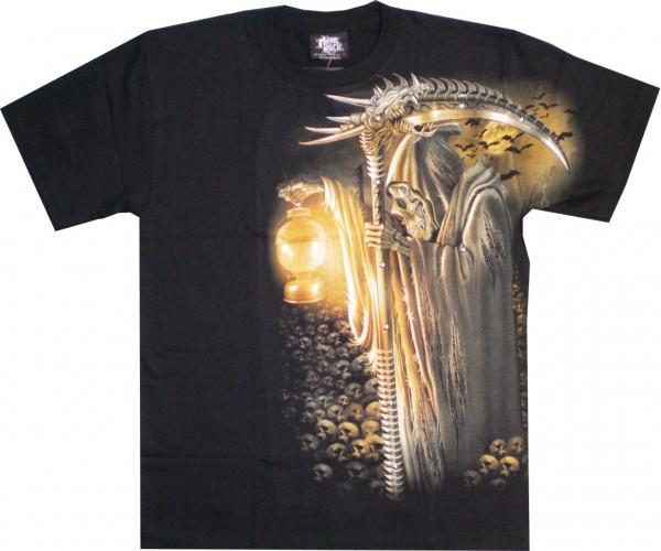 T-Shirt - Sensemann - Glow in the dark mit Nieten