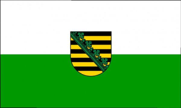 Länderfahne Sachsen