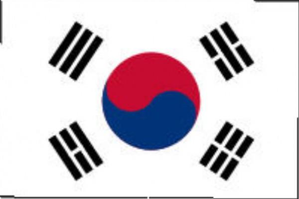 Länderfahne Südkorea