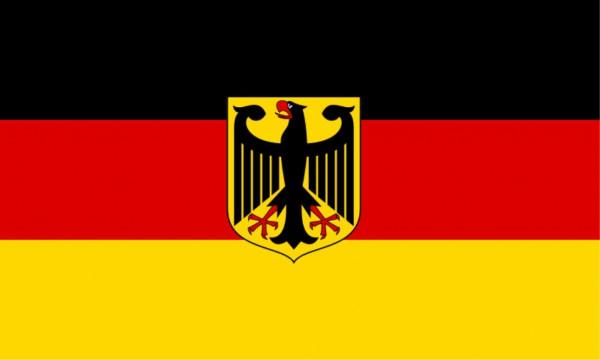 Länderfahne BRD mit Adler