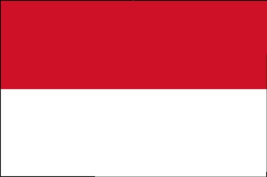 Länderfahne Indonesien