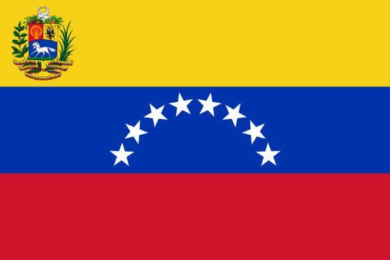 Länderfahne Venezuela