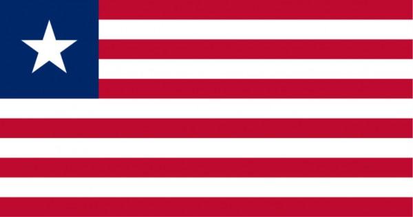 Länderfahne Liberia