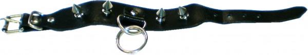 NAB 1829 - Nieten-Armband - Punk - Gothic - mit Killernieten + 2 Ringen