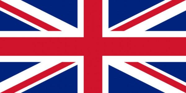 Stockfahne / Stockflagge Großbritannien