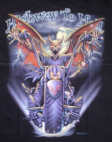T-Shirt Highway to Hell