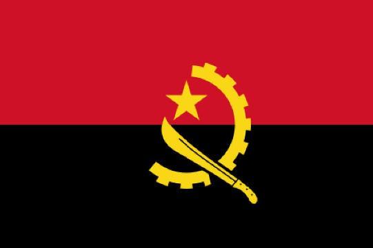 Länderfahne Angola