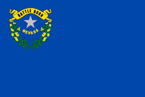 Länderfahne Nevada