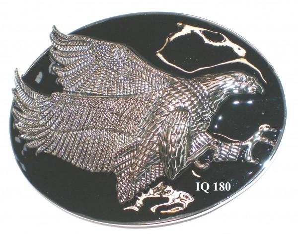 IQ 180 - Gürtelschnalle Adler