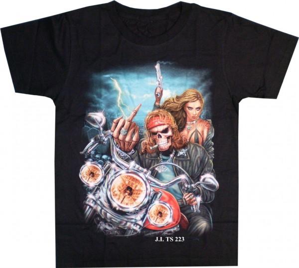 T-Shirt Rocker Skull
