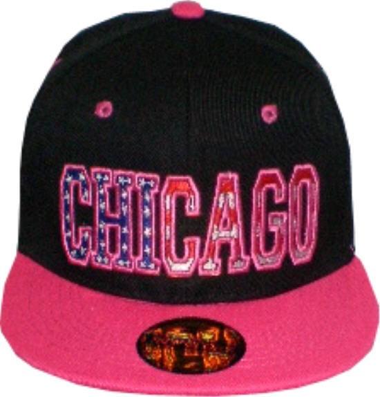 Cap IQ1301 - Basecap - Snapcap mit US-City CHICAGO