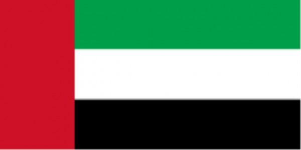 Länderfahne Vereinigte Arabische Emirate (VAE)