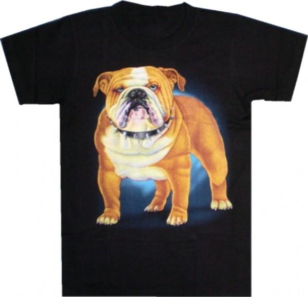 T-Shirt Hund Bulldogge