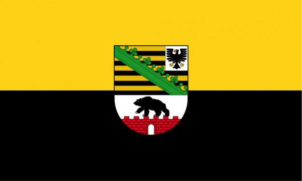 Länderfahne Sachsen-Anhalt