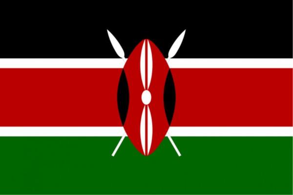 Länderfahne Kenia