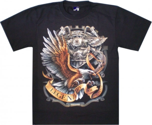 T-Shirt - Legendary - Glow in the dark