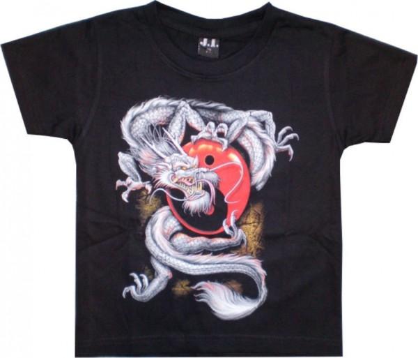 Kinder T-Shirt Drache